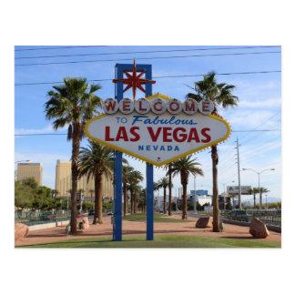Postal ¡Acoja con satisfacción a Las Vegas la postal!