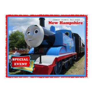Postal Acontecimiento escénico del ferrocarril de Conway