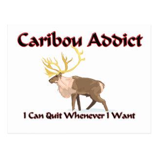 Postal Adicto al caribú