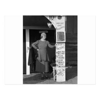 Postal Adivino de Luisiana, 1938