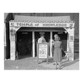 Postal Adivino del carnaval, 1938