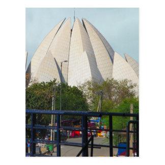 Postal Adoración de la casa de Nueva Deli la India Bahá'í