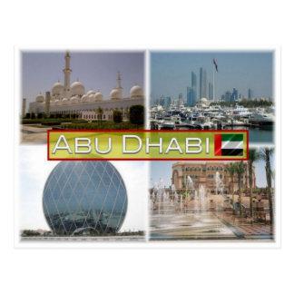 Postal AE United Arab Emirates - Abu Dhabi -