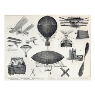 Postal Aeronáutica - máquinas aéreas