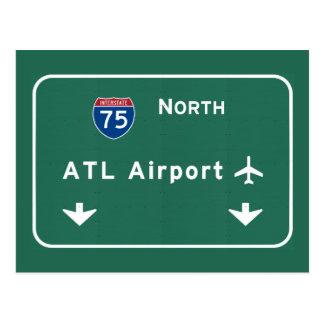 Postal Aeropuerto I-75 N Georgia de un estado a otro de