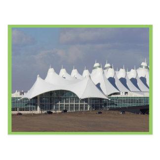Postal Aeropuerto internacional Buildin terminal