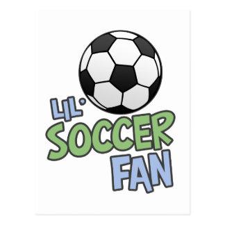 Postal Aficionado al fútbol de Lil