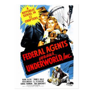 Postal Agentes federales contra Underworld, Inc.