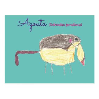Postal Agouta childrens drawing