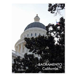 ¡Postal agradable de Sacramento! Postal