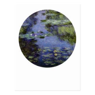 Postal Agua-Lirios de Monet