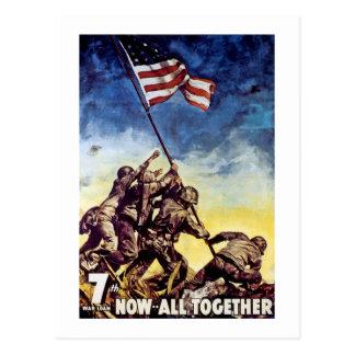 Postal Ahora todos junto ~ Iwo Jima