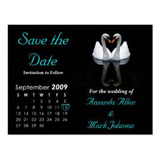 Postal Ahorre en septiembre de 2009 la fecha, casando la
