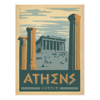Postal Ahorre la fecha el | Atenas, Grecia