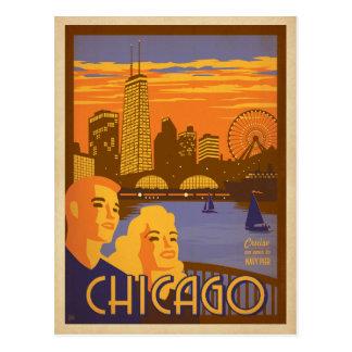 Postal Ahorre la fecha el | Chicago, IL - embarcadero de