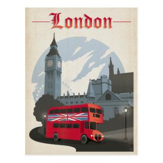 Postal Ahorre la fecha el | Londres - autobús rojo