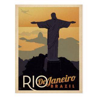 Postal Ahorre la fecha el | Río De Janiero, el Brasil