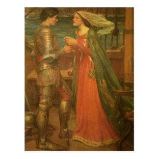 Postal ¡Ahorre la fecha! Tristan e Isolda por el