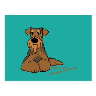 Postal Airedale Terrier - Simply the best!