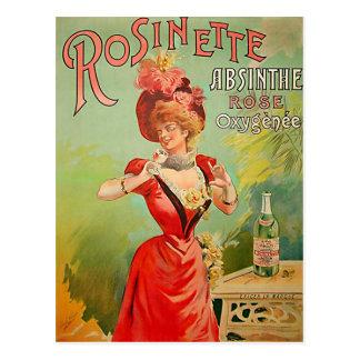 Postal Ajenjo 1823 de Rosinette