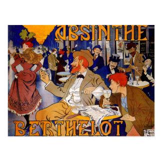 Postal Ajenjo Berthelot del vintage