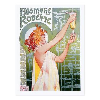 Postal Ajenjo Robette