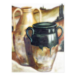 Postal al sudoeste de la cerámica