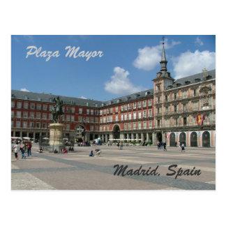 Postal Alcalde de la plaza