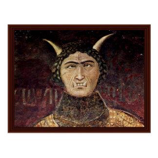Postal Alegoría del mal gobierno de Lorenzetti Ambrogio