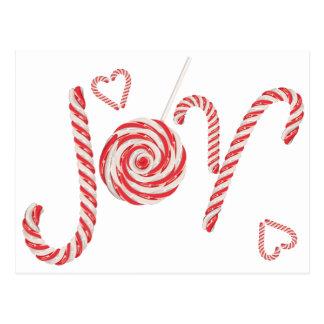 Postal Alegría Word2 del caramelo