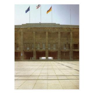 Postal Alemania, Berlín, el estadio Olímpico