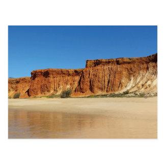 Postal - Algarve Portugal - Praia de falesia