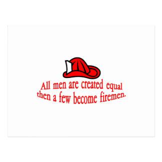 Postal Algún bombero