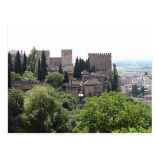 Postal Alhambra, Granada España