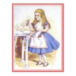Postal: ¡Alicia en el país de las maravillas -