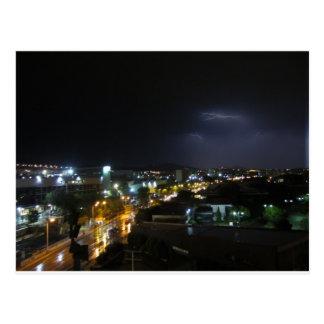Postal Aligeramiento/tempestad de truenos sobre Salónica