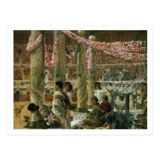 Postal Alma-Tadema el   Caracalla y Geta, 1907