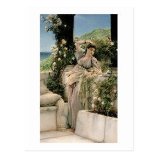 Postal Alma-Tadema mil subió de todos los rosas, 1885 del