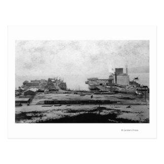 Postal Almacenes de la costa en Astoria, O fotografía
