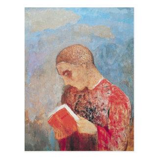 Postal Alsacia o, lectura del monje, c.1914