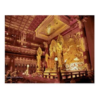 Postal Altar chino del templo