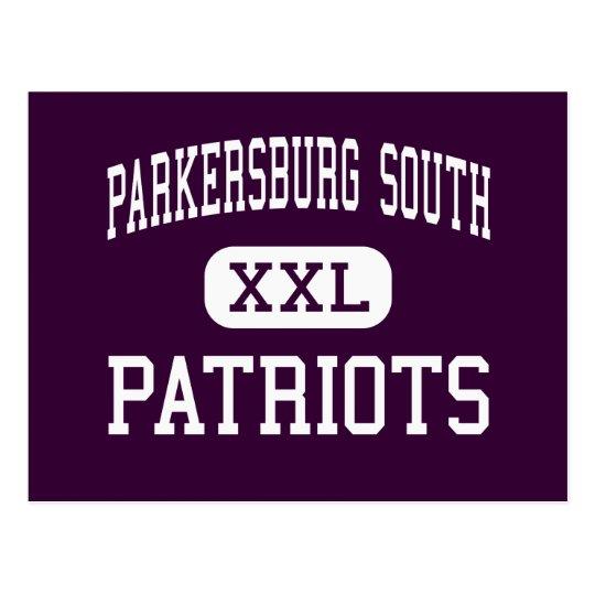 Postal Alto del sur de Parkersburg - patriotas - -