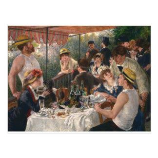 Postal Alumerzo del vintage del fiesta del canotaje -