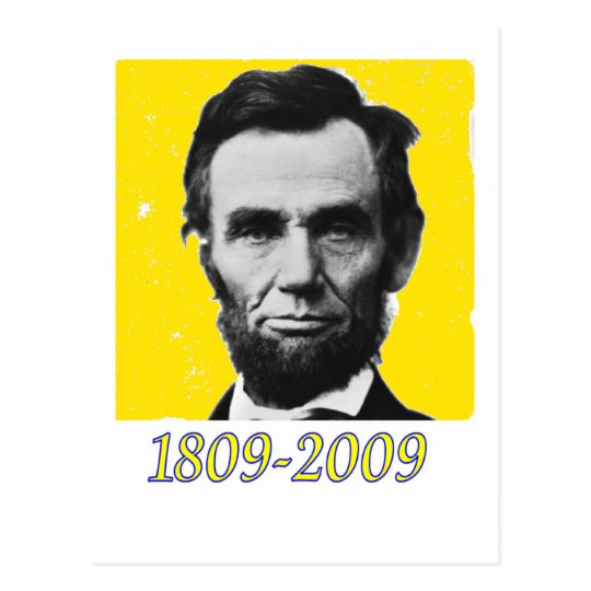 Postal AMARILLO 1809 2009 de Abe Lincoln