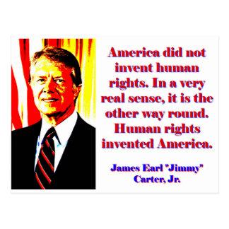 Postal América no inventó los derechos humanos - Jimmy