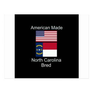 """Postal """"Americano llevado. Carolina del Norte crió"""""""