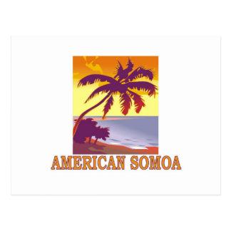 Postal Americano Somoa