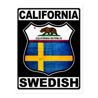Postal Americano sueco de California