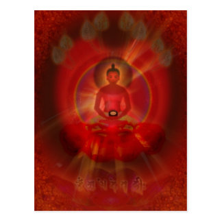 Postal 'Amitabha Buddha