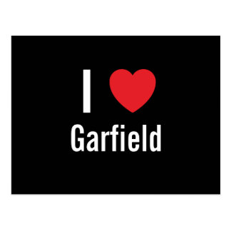 Postal Amo a Garfield